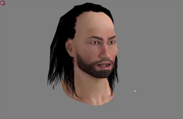 Ancient Greenland man
