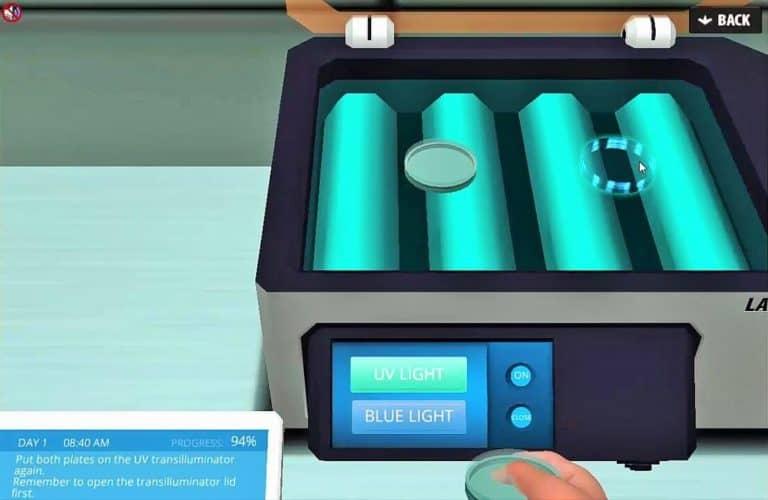 Molecular Cloning UV transilluminator