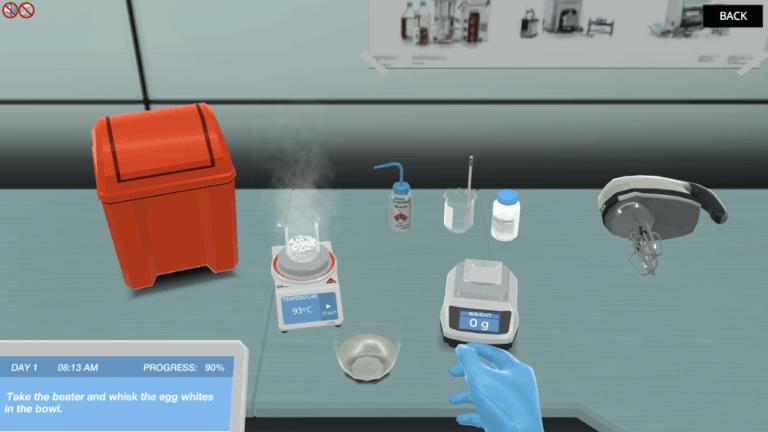 Protein Denaturation workbench