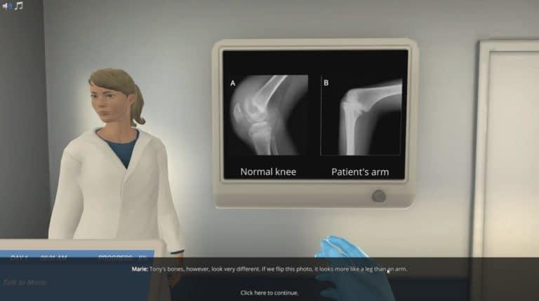 Bones radiography