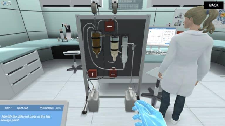 Lab Sewage plant