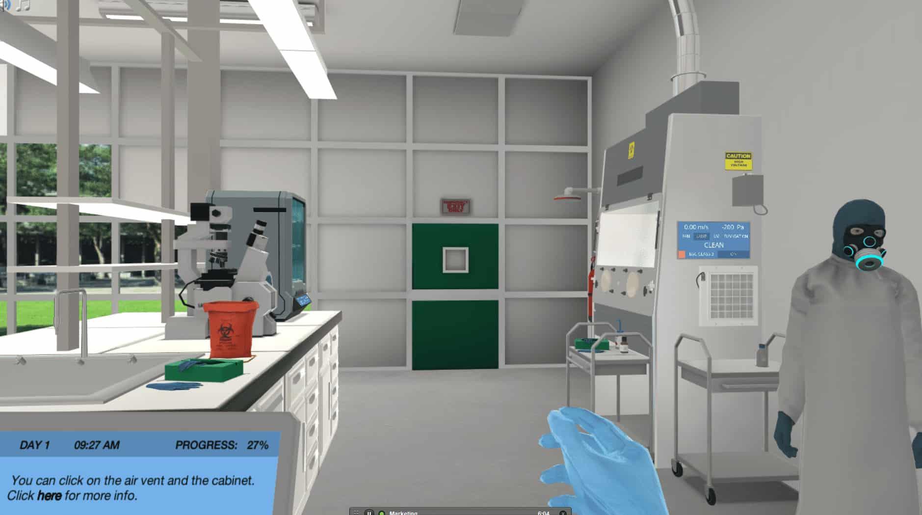 Biosafety screenshot 3