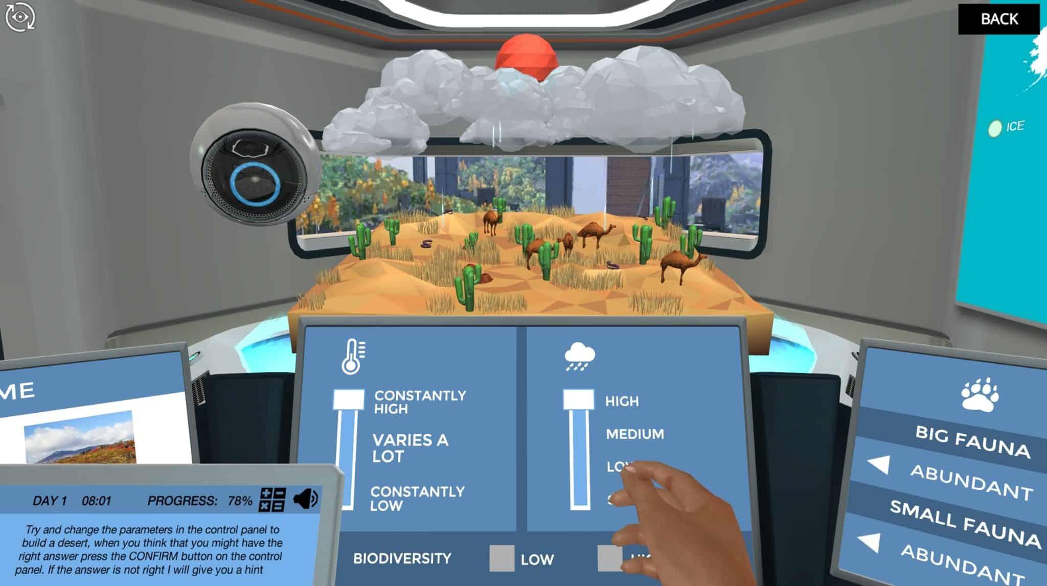 image from Biomes virtual lab