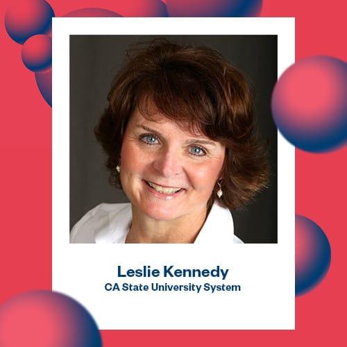 Portrait of Leslie Kennedy
