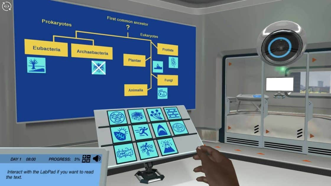 image from evolution virtual lab