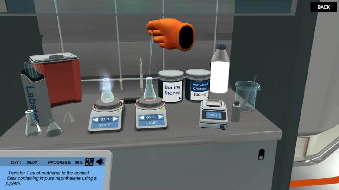 image from Recrystallization virtual lab