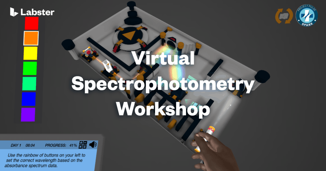 Virtual Spectrophotometry Workshop - Labster - Project Pulse Spark Ottawa
