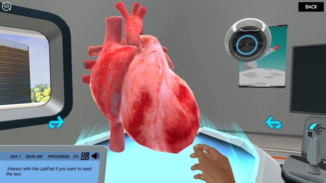 Cardiac Ultrasound Simulation - Labster
