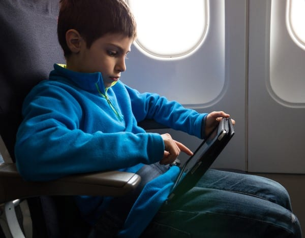 Boy at Airplane