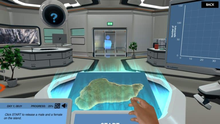 Play Labster's virtual lab: Evolution