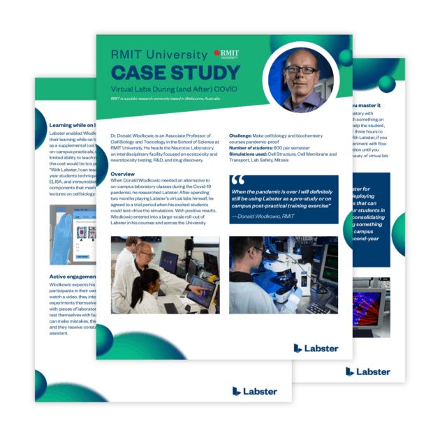 Labster - RMIT Case Study - Donald Wlodkowic RMIT