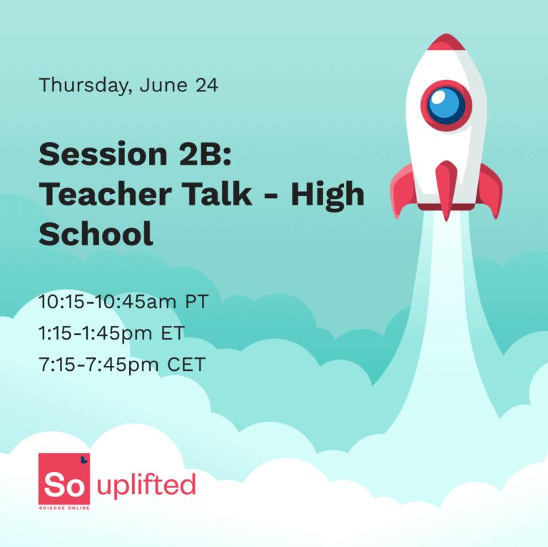 Labster - SO: Uplifted - Teacher Talk - High School