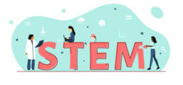 Women in STEM illustration