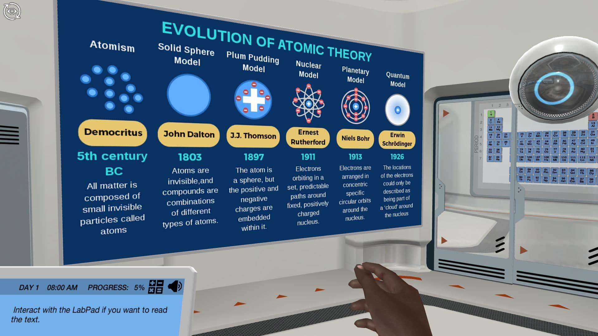 Atomic Structure - Assess the possibility of life on other planets
