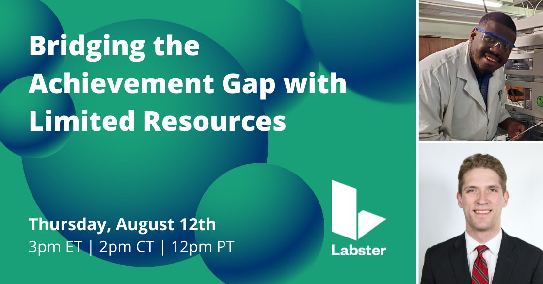 Webinar: Bridging the Achievement Gap with Limited Resources