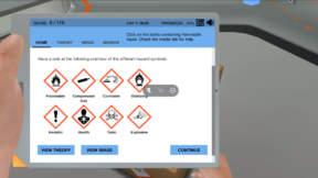 Lab Safety simulation
