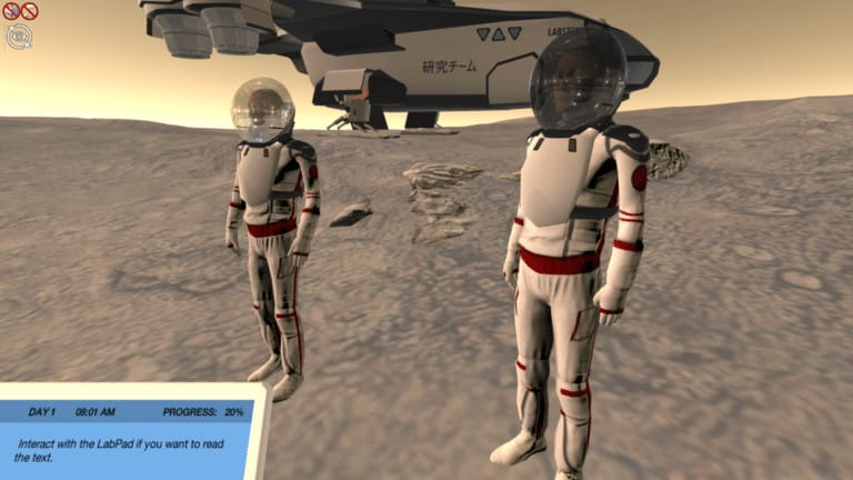 Vectors and Scalars - Guide two astronauts on a mission to Mars